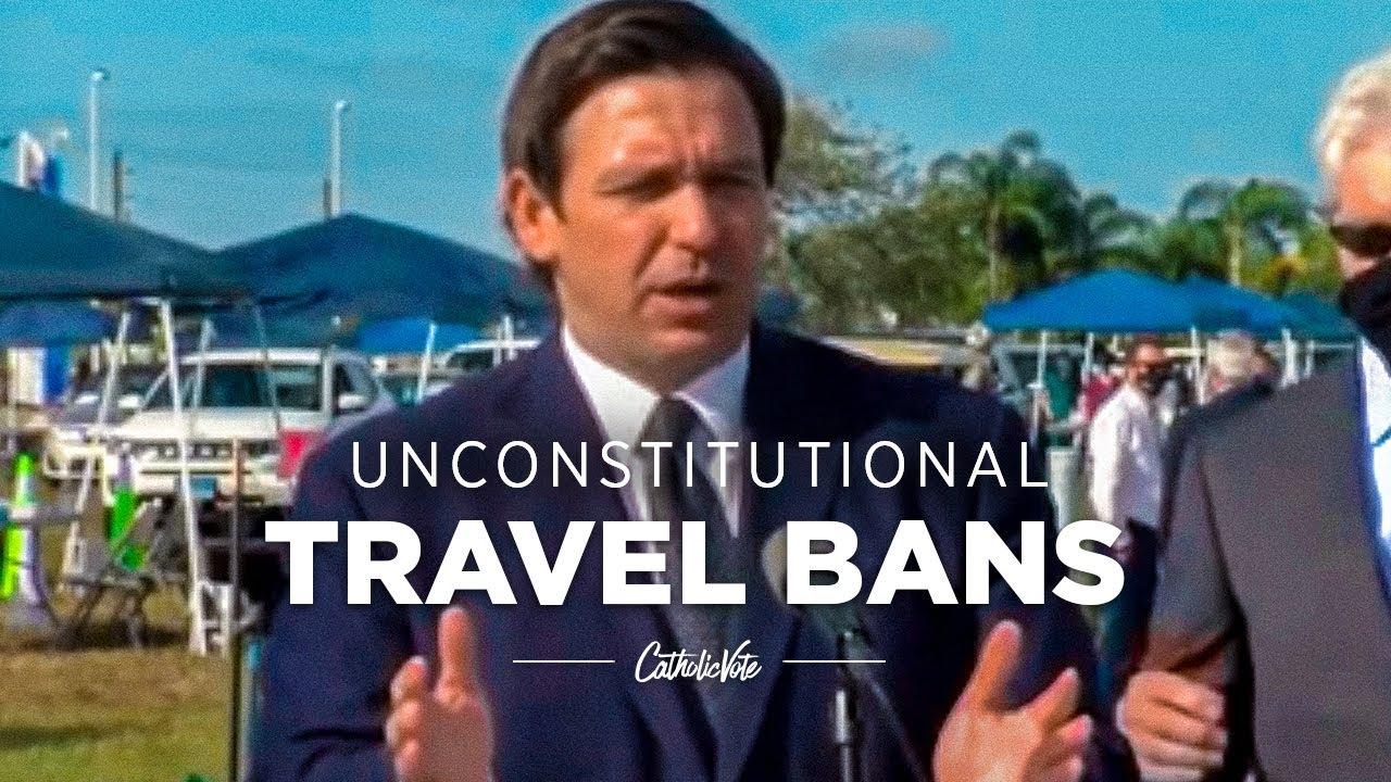 DeSantis Slams COVID Travel Bans