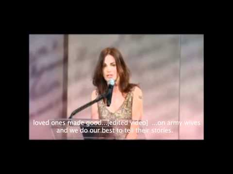 Kim Delaney Speech - Alcohol Involved?