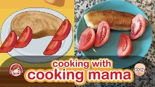 Fried Fish   Cooking (Dinner) with Cooking Mama!