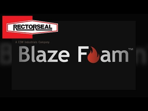 rectorseal®-blaze-foam™---compressible-intumescent-firestopping
