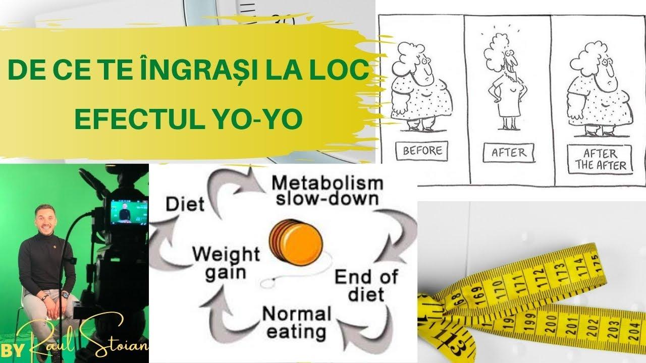 dieta slabit fara efect yo- yo