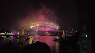 Sydney fireworks 2020 2021 new year harbour bridge
