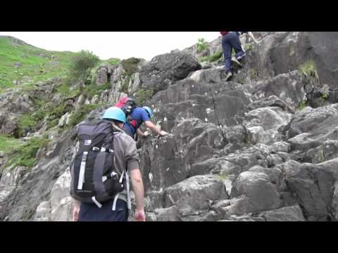 Ghyll Scrambling In The English Lake District