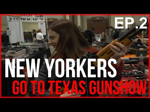 New Yorkers Go To Texas GUN SHOW