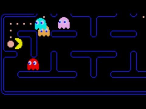Pac-Man Arcade Midway Version Game Sample