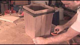 Make A Walnut Trash Can