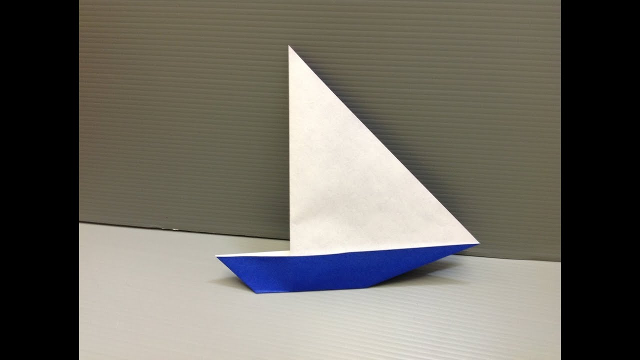 Daily Origami: 101 - Yacht - YouTube - photo#33