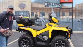 2013 Can-Am Outlander 1000R XT with LIN-Q ACCESSORIES!