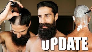 SHAVING HEAD, BEARD CARE, AND GOALS UPDATE & THOUGHTS