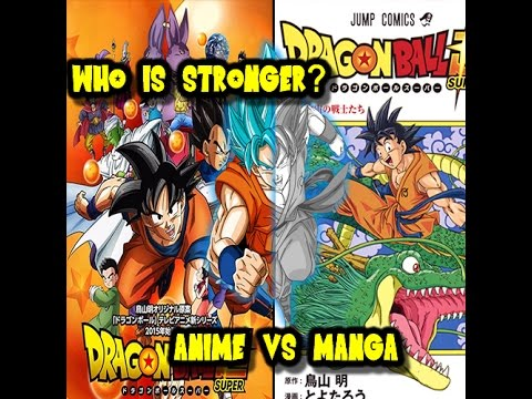 Which version is stronger? Anime or Manga?