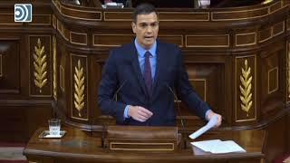 Pedro Sánchez no habla del 155 y se limita a amenazar con mandar policías a Cataluña