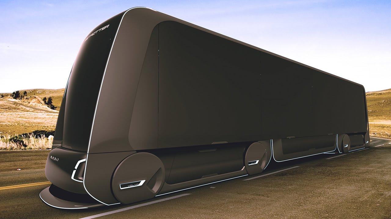 Pictures Of Future Trucks: Future Volvo Truck Concept
