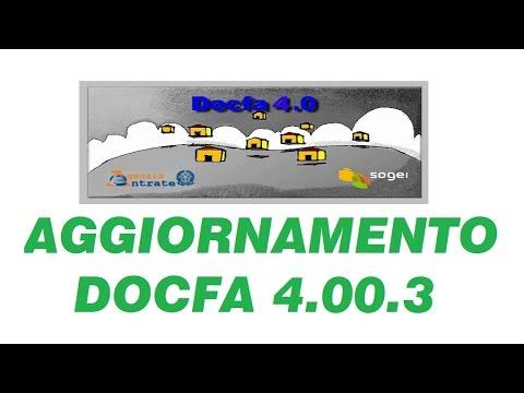 News Docfa 4 00 3 Obbligatorio Dal 1 4 2016 Geolive