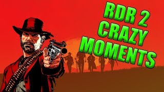 CRAZY MOMENTS - RDR 2(Epic Fails and Funny Moments in RDR 2)