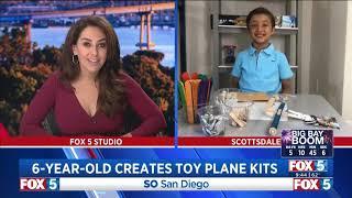 Creations by Nicholas on FOX-5 San Diego