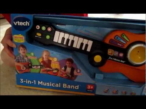 VTech  3in1 Musical Band Review