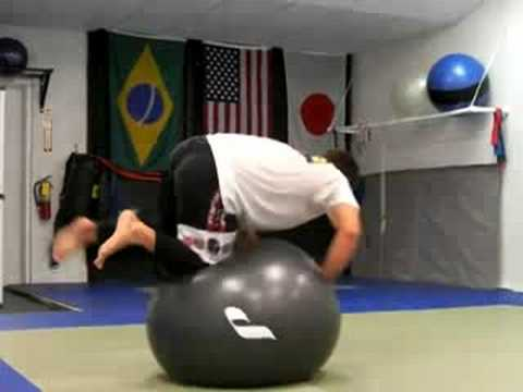 Naples Martial Arts - Stability Ball Drills for BJJ Part 4