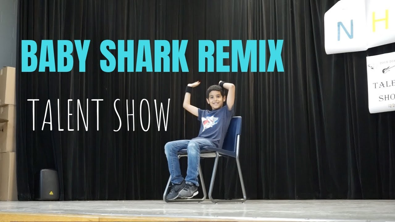 BABY SHARK TRAP REMIX DANCE | First Talent Show 2019 - YouTube