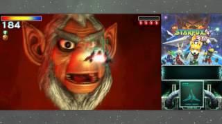 Star Fox 64 3D - Final Star Wolf & Andross Boss Fight (Hard Route)