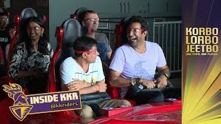KKR HIT FERRARI WORLD | Inside KKR Ep 5 | Theme park thrills and team bonding