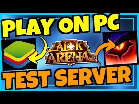 [AFK ARENA] HOW TO PLAY ON PC & TEST SERVER!