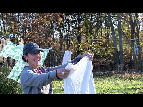 OFF GRID LAUNDRY VIDEO, THE WAIT IS OVER =)