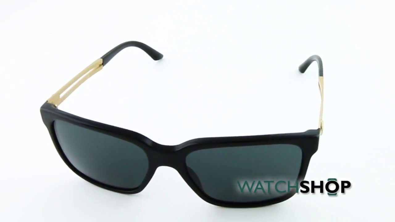 92d4719d193 Versace Men s VE4307 Sunglasses (VE4307-GB1 87-58) - YouTube