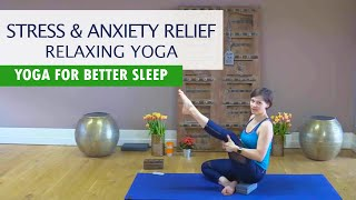 Relaxing Yoga | Yoga for Stress, Anxiety Relief, Teenager Yoga, Stretching for Flexibility