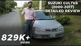 Suzuki Cultus (2000-2017) Detailed Review Price, Specs & Features| PakWheels