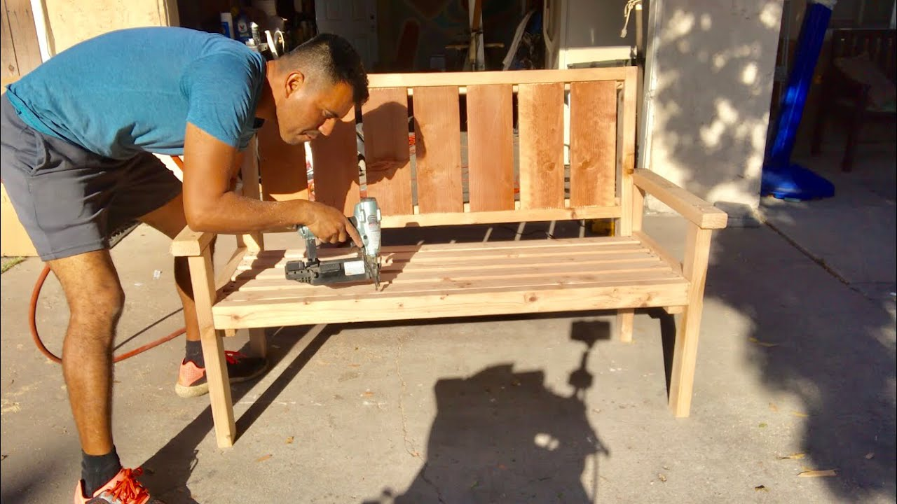 COMO HACER BANCA DE MADERA  /   MAKING WOOD BENCH