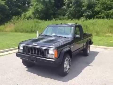 1988 Jeep Comanche Pickup 4WD Pioneer 2 Door Pickup - YouTube