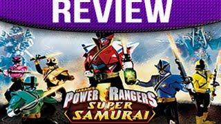 Power Rangers Super Samurai Review