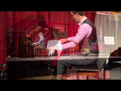 """""""Echoes of Spring"""", """"King Chanticleer"""", Adam Yarian 5-24-2015 Semifinals, Old-Time Piano Contest"""