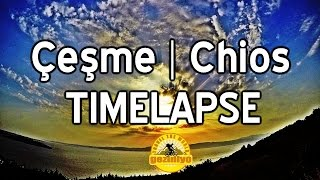 Çeşme - Sakız (Chios) Timelapse