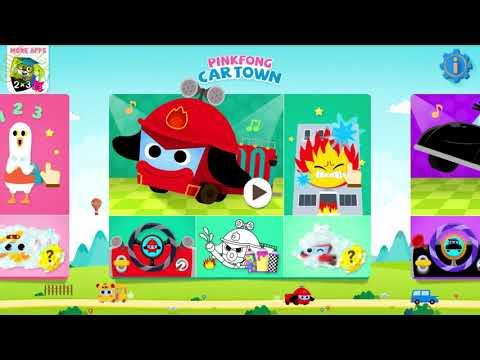 pinkfong car town apk mod