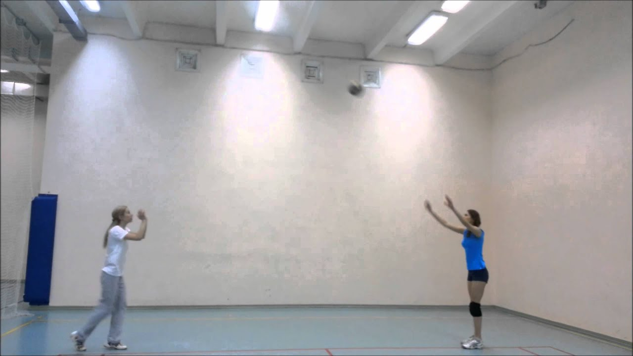 Волейбол Урок №1