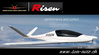 Risen, Swiss ultralight aircraft with retractable gear and in-flight adjustable propeller.