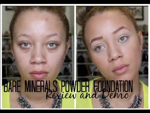 Bare Minerals Powder Foundation Review + Demo