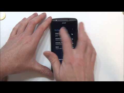 Acer Liquid E700 - распаковка, предварительный обзор