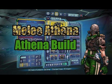 Borderlands: TPS: Melee Athena - Build Showcase (w/ Download)