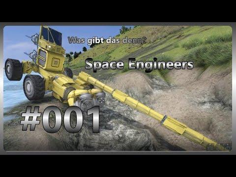 Aller Anfang ist schwer! #001 SONDERFOLGE Let´s Play Space Engineers