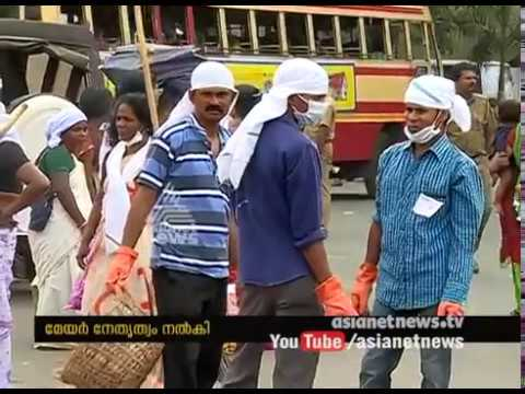 thiruvananthapuram corporation cleaned city with in few hour after Attukal Pongala festival