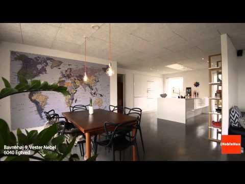 Indflytningsklar villa med moderne og stilfuld indretning - YouTube