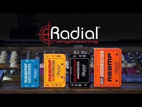 造韻樂器音響- JU-MUSIC - Radial Reamp Kit 真實聲音 不會失真 『公司貨,免運費』