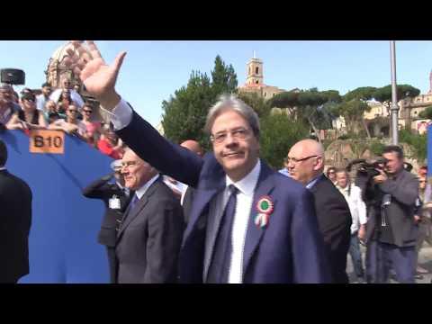Festa della Repubblica, Gentiloni alle celebrazioni