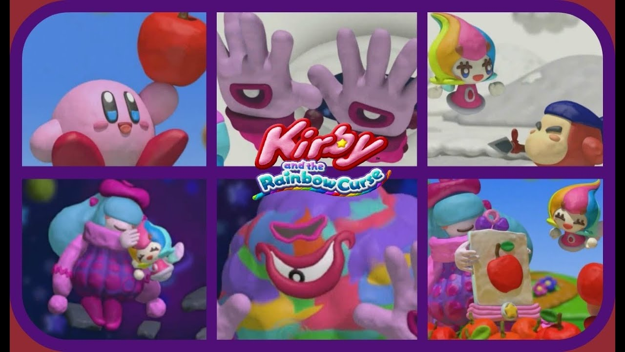 kirby and the rainbow paintbrush all cutscenes