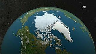 Льда в Северном Ледовитом океане стало рекордно мало (новости)