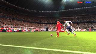 Pro Evolution Soccer 14 multiplayer gameplay [PS3]