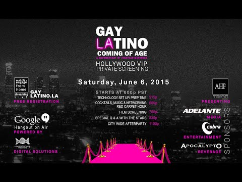 Latino Outreach & Understanding Division presents Gay Latino LA: Coming of Age FREE Screening