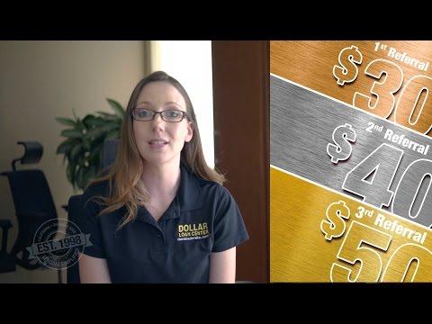 Dollar Loan Center Referral Program